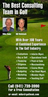 Golf Consultant Ad