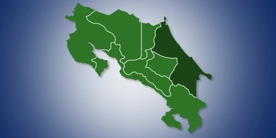 Limon Costa Rica Map