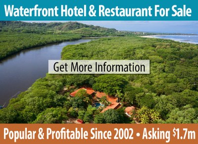 Profitable hotel and restaurant for sale in Playa Grande, Costa Rica