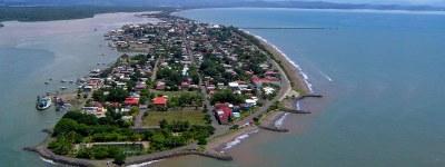 Puntarenas Banner Arial View