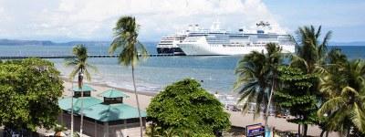 Puntarenas Banner Cruise Ships