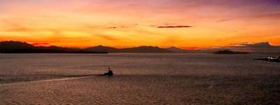 Puntarenas Sunset Banner II