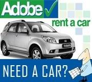 Adobe Rent a Car Banner