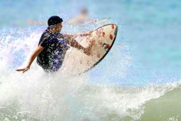 Surfing in Puntarenas Esterillos