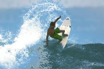 Surfing in Puntarenas Manuel Antonio