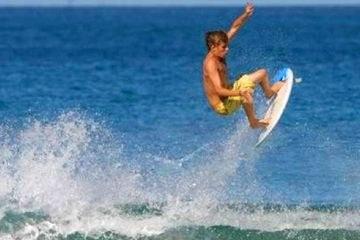 Surfing in Puntarenas Playa El Rey