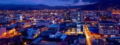 San Jose, Costa Rica at Dusk