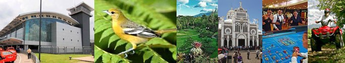 Activities in the Central Valley region of Costa Rica