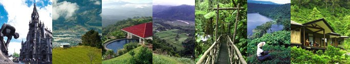 Activities in Heredia in the Central Valley region of Costa Rica