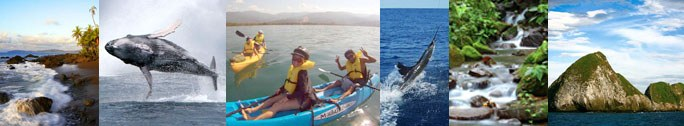 Activities in the South Pacific region of Costa Rica