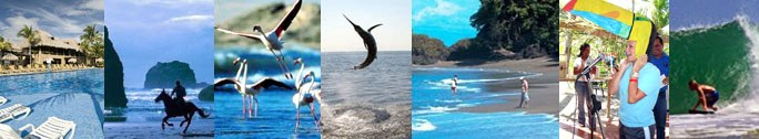 Activities in Flamingo in the North Pacific region of Costa Rica