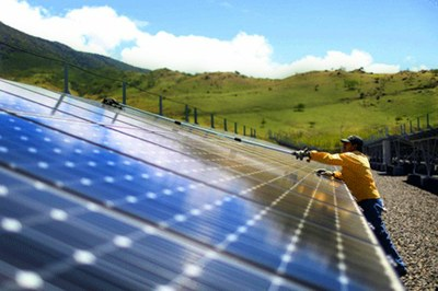 Costa Rica Business Solar Panels