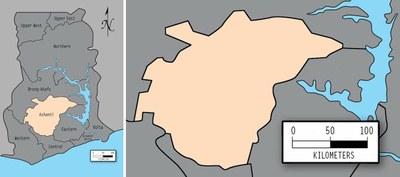 Ashanti Composite Province Map