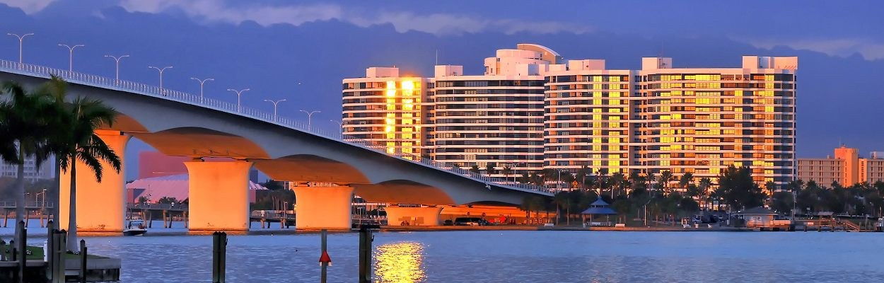 St. Armands Bridge Sarasota Florida