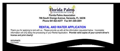 FL Plams Rental App Graphic