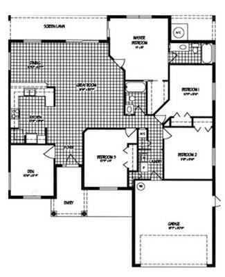 Jasmine 4-2 Floor Plan