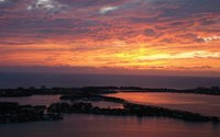 Sunset over Sarasota, Florida